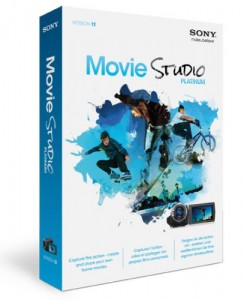 sony movie studio platinum